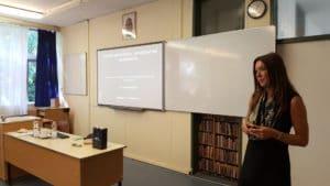 PRO BONO PROTOKOLL előadás a Testnevelési Egyetem Gyakorló Sportiskolai Általános Iskola és Gimnázium felkérésére