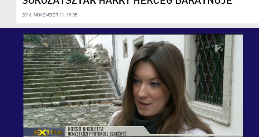 TV2 Tények Extra: Sorozatsztár Harry herceg barátnője