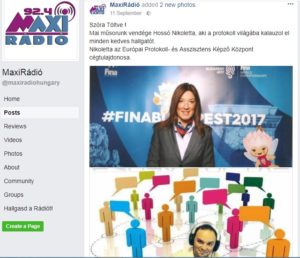 """Beszélgetés a MaxiRádió """"Szóra töltve"""" című műsorában"""